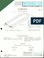 Sylvania Curvalume New Product Information Bulletin 1968