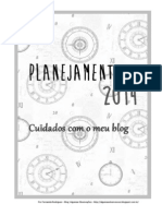 Blog Planning 2014