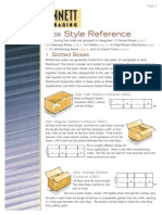Bennett Packaging Box Styles Reference