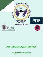 1- Los Adolescentes Hoy - 7o Diplomado Para Padres