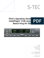 IntelliFlight2100 KingAir200 POH Rev1