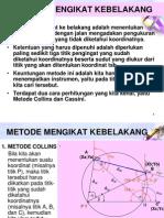 Pengukuran-mendatar Collins Cassini