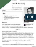 Princípio da incerteza de Heisenberg – Wikipédia, a enciclopédia livre