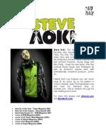 Steve Aoki Kid Millionaire May 08 Press Kit