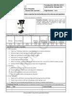 Safe Work Procedure (Drill Press)