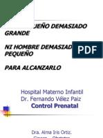 Control Prenatal Dra Hdez