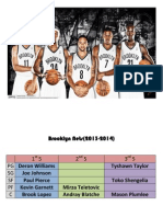 Brooklyn Nets 2013-2014