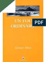 Edward Abbey - Un fou ordinaire (Beyond the Wall).pdf