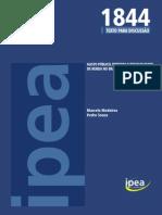 gasto público, tributos e desigualdade de renda no Brasil