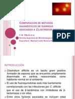 Comparación de métodos diagnósticos de diarreas