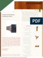 Lista dos livros da coleção