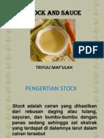 Menyiapkan Stock Dan Sauce