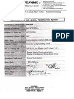 Drilling Check Examination Reports