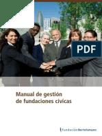 Manual de gestión de fundaciones cívicas