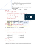 GATE CE 2012 Question Paper