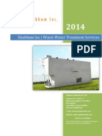 Sewage Treatment Plant - Shubham Hydrosys Pvt. Ltd.