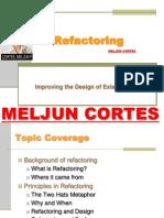 MELJUN CORTES JAVA Lecture Refactoring