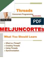 MELJUN CORTES JAVA Lecture Threads