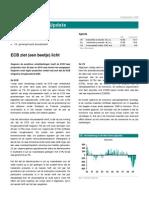 Global Markets Update ECB Ziet (Een Beetje) Licht