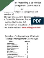 Case Presentation Guidelines 2