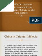 Relatiile de Cooperare Politico-economice Ale Orientului Mijlociu Cu Alte State Asiatice