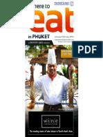 Where to Eat Phuket January - February 2014