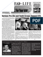 FYI NEWSLETTER OCT.-NOV. 2011 ISSUE