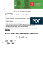 Chapter 8 Model b Properties of the Regression Coefficients %28EC220%29