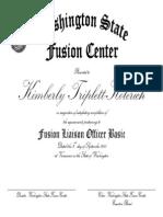 Triplett-Kolerich Working Copy Fusion Center Certificate