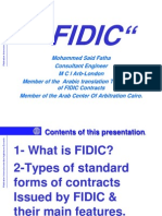 FIDIC and the Standard Form Contracts