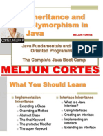 MELJUN CORTES JAVA Lecture Inheritance Polymorphism