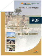 phulbari coal mine executive summery by asia energy