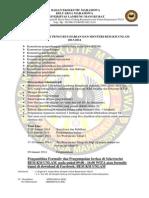 OPEN RECRUITMENT PENGURUS HARIAN DAN MENTERI BEM KM UNLAM  2013 fix.docx