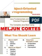 MELJUN CORTES JAVA Lecture OOP