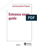Entrance Exam Guide
