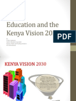 Education and the Kenya Vision 2030