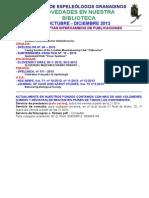 2013 - 4 - NOVEDADES BIBLIOTECA  G.E.G..doc