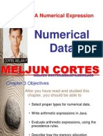 MELJUN CORTES Java Numerical Data Types and Expressions