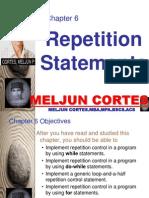 MELJUN CORTES JAVA Control Structures Repition