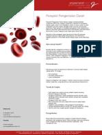 Angsamerah | Penyakit Pengentalan Darah