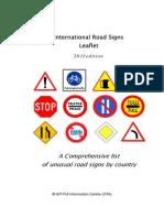 Road Signs Leaflet Online Version 2011