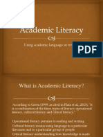 Academic Literacy