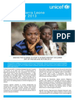 UNICEF Sierra Leone Newsletter December 2013