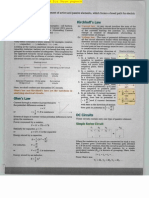 IIT JEEPhyscis Electrical Ciruits Study Material and Solved Sample Paper