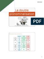 Double Pronominalisation