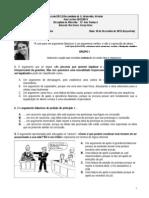 Prova de avaliação escrita 2 de Filosofia 11ºA 10.12.2013