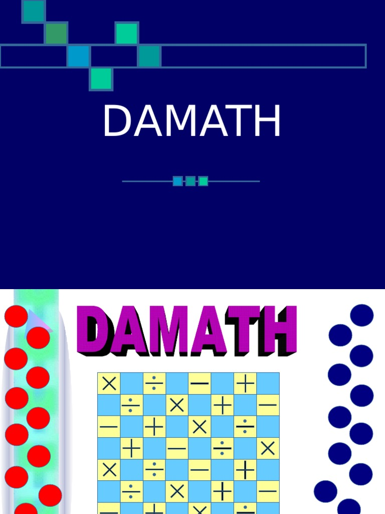 history of damath Four principles of deeply effective math teaching if you were asked what were the most important principles in mathematics teaching, what would you say i wasn't really asked, but i started.