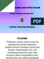 Materi Kuliah Agama Etika Islam