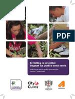 London Youth Quality Mark  Brochure
