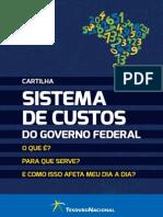 Cartilha Sistema de Custos Do Governo Federal